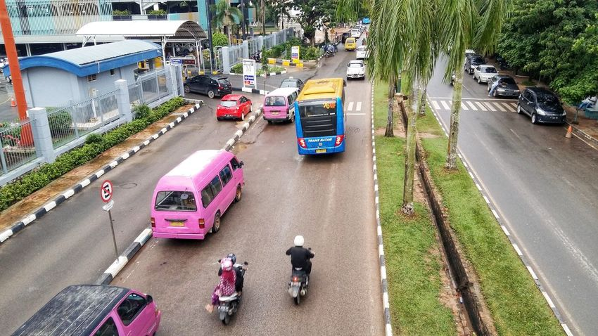 chaos High Angle View Street Road Transportation Day Outdoors Land Vehicle City People Real People