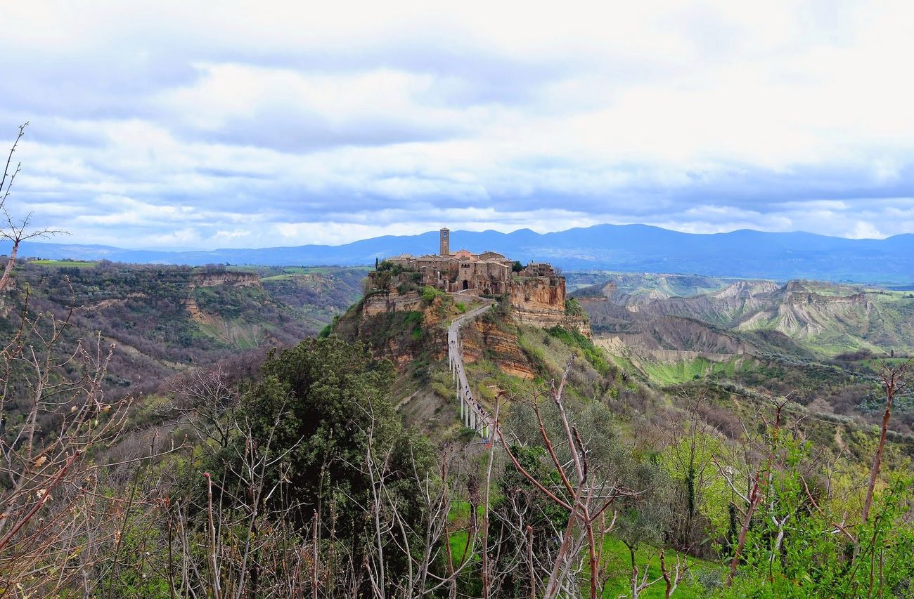 Civita Di Bagnoregio Travel Travel Destinations Tourism Beauty In Nature Landscape Nature Outdoors Cloud - Sky No People Vacations Urban Skyline Landscape_captures Urbanphotography Cityscape Beauty In Nature Architecture Travel Landscape_Collection Travel Photography Urban Landscape