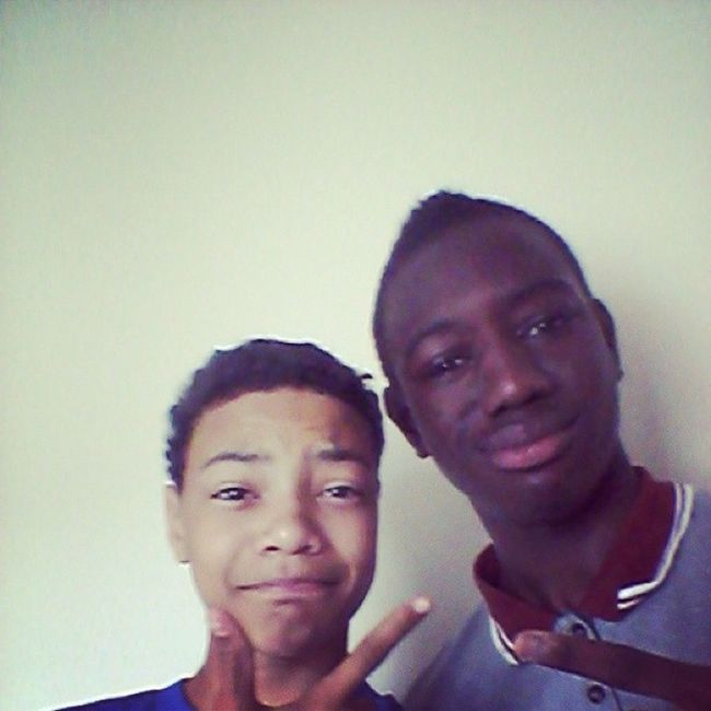 Me and saido going swimming Emenike