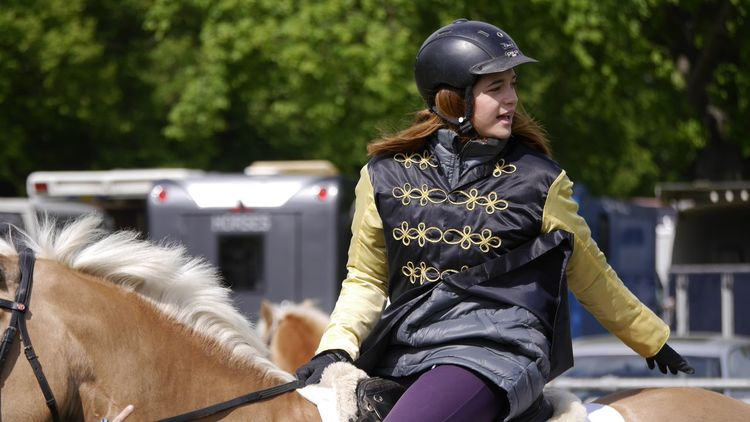 Horse Riding Hannover Pferderennbahn Auf Der Bult Haflinger Horse EyeEm Best Shots