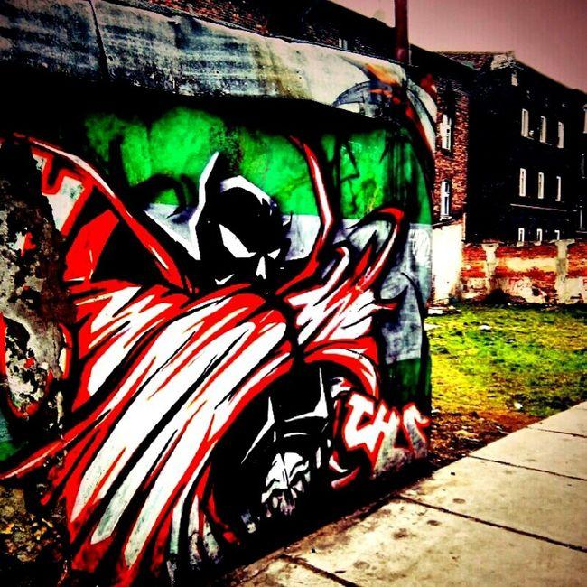 Grafitty spawn of swietochlowice Grafikphotodesign Grafitti Wall Grafitti Art. Swietochlowice Spawn EyeEm Best Shots Bestshot Art Gallery Notes From The Underground Street Style From Around The World urban