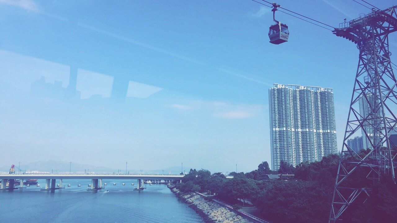 Harbour Ngongping360 Cablecar Bus Lazysunday First Eyeem Photo