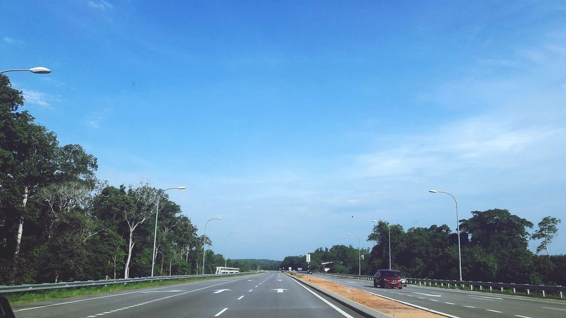 Taking Photos Hello World Enjoying Life Car Road Blue Sky Malaysia Nature Travel Traveling Road Trip Car Colour Of Life Adapted To The City