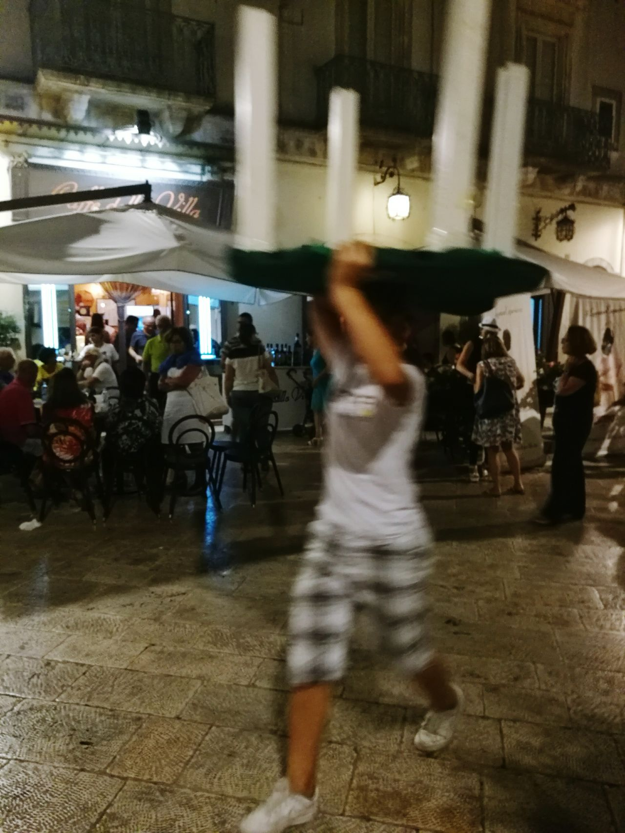Locusfestival Locorotondo Puglia Puglia South Italy People Peopleworking Nightphotography