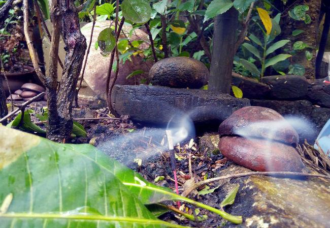 Chant Shivalinga Smoke Weed