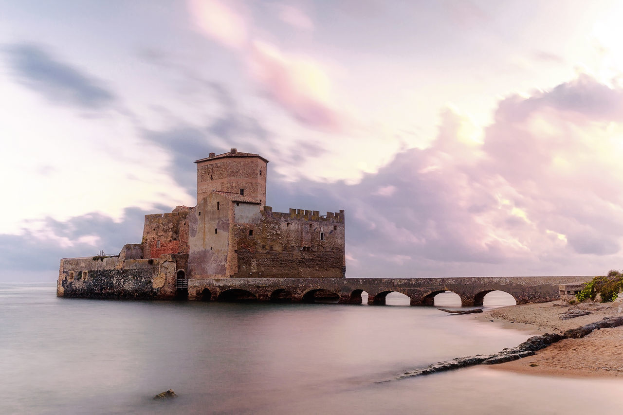 Beautiful stock photos of castle, Architecture, Beach, Beauty In Nature, Bridge - Man Made Structure