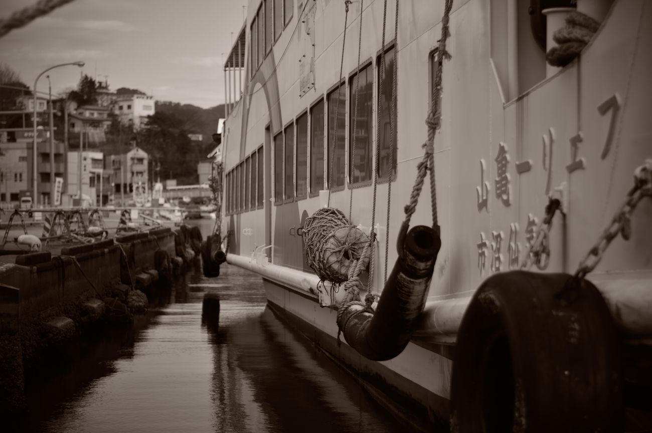 大島汽船 フェリー亀山 Miyagi Kesennuma-bay Japan Sea