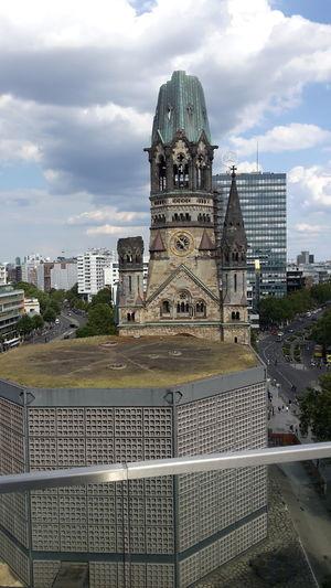Discover Berlin Gedächtniskirche Cloud - Sky Architecture Sky Outdoors