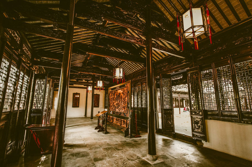 Architecture China Chinese Architecture EyeEmNewHere Historic Building Historic Landscapes Indoors  No People