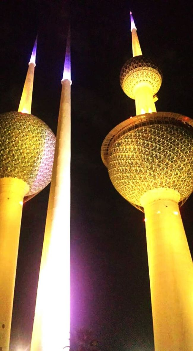 The Tower Kuwait Towers What A Peaceful Night