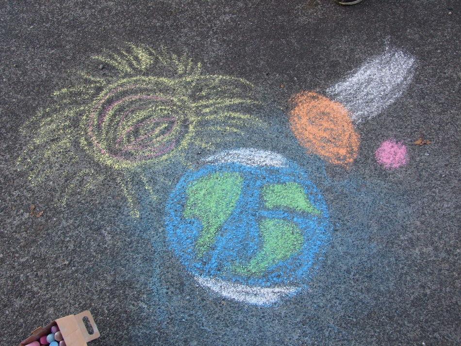Beautiful stock photos of space, Art, Chalk, Chalk Drawing, Childhood