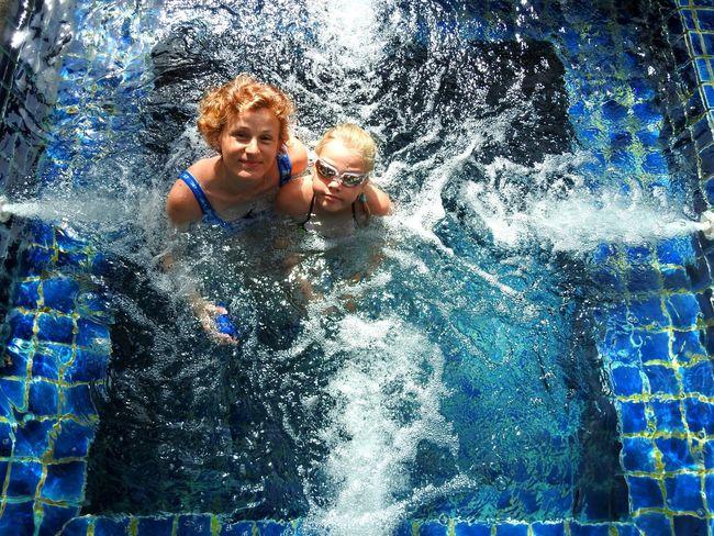 My Angels Wifey♡ Daughter Jacuzzi🐳💦 Swimming Pool Thailand Happy Summer EyeEm Selects Prachuap Khiri Khan PrachuapKhiriKhan Garden View Resort Hotel Deep Blue Beauty Sunny Day 🌞 EyeEmNewHere Let's Go. Together. My Family 😘💜 My Life ❤ Happy Girls Summer ☀