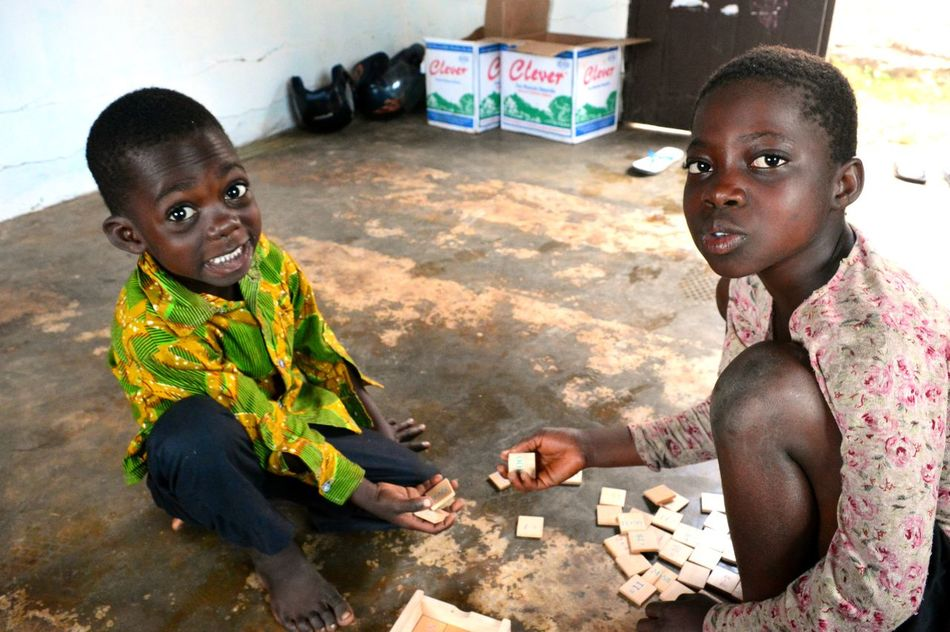 Africa Beautiful People Cheerful Child Childhood Friendship Happiness Sitting Togo