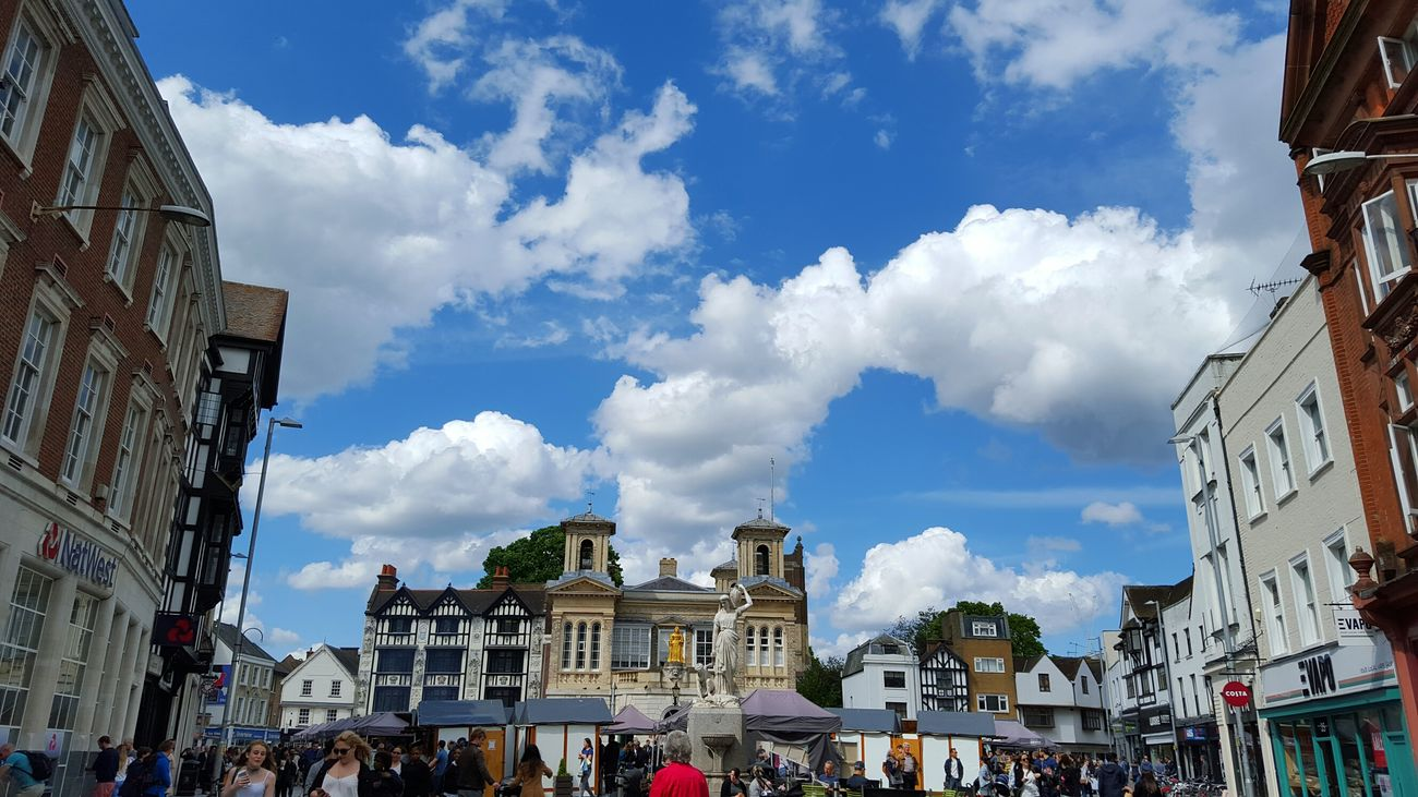 Kingston Upon Thames Travel Destinations Cloud - Sky Architecture Old But Awesome Old Town
