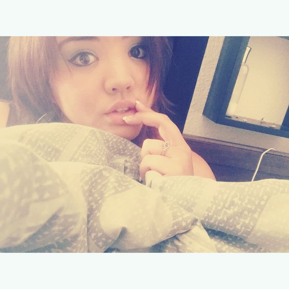 That's Me Laying In Bed Cute♡ Selfie ✌ Being Silly MeMyselfAndI ♡ Bored
