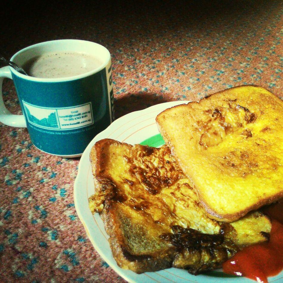 Morning Rituals Morning Eggbread Milk