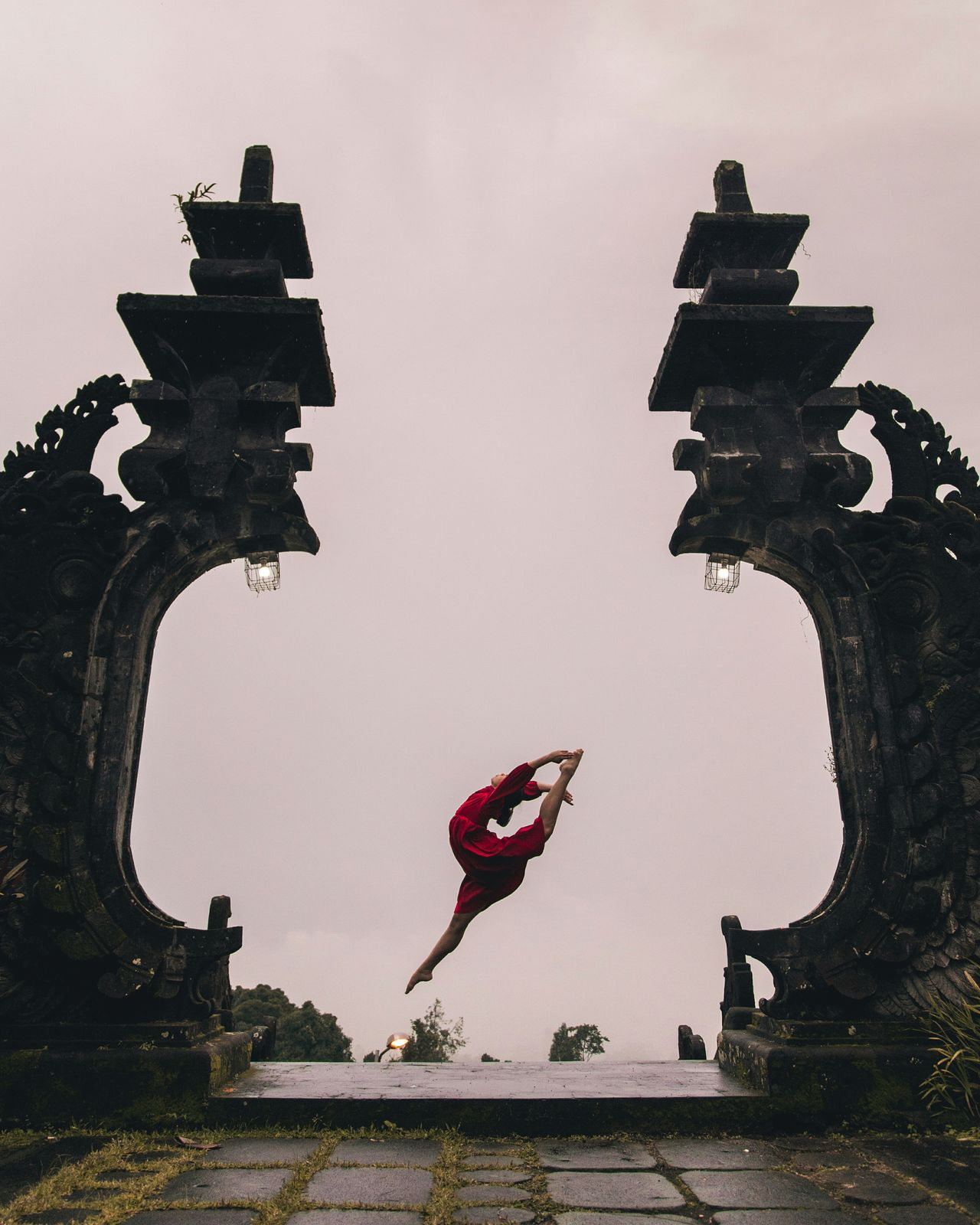 Why I travel Dancer Dance Dance Photography Bali, Indonesia Bali Nature_collection Framed Framing Composition Jump Women Of EyeEm Travel Travel Destinations Travel Photography Wanderlust Nature Red Dress