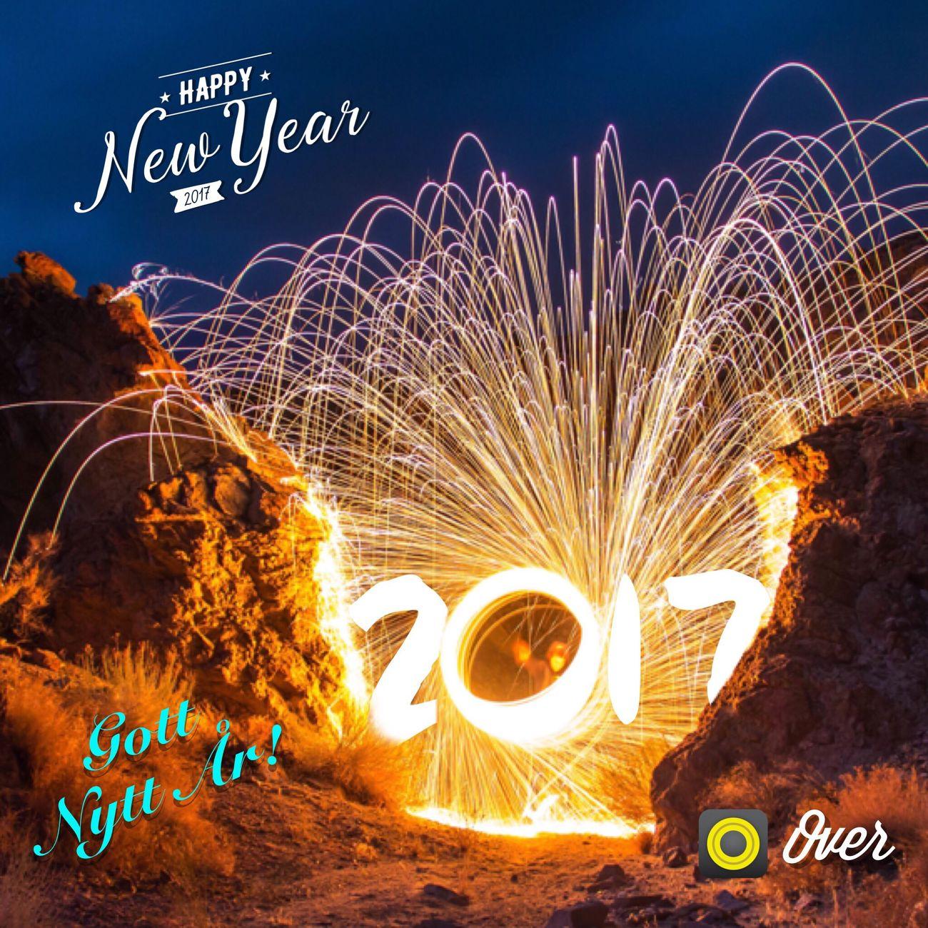 Long Exposure Text Outdoors Night Winter New Year Around The World