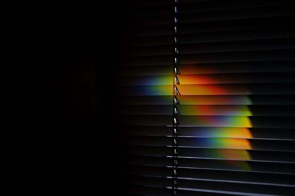 Beautiful stock photos of rainbow, Blinds, Close-Up, Colorful, Copy Space