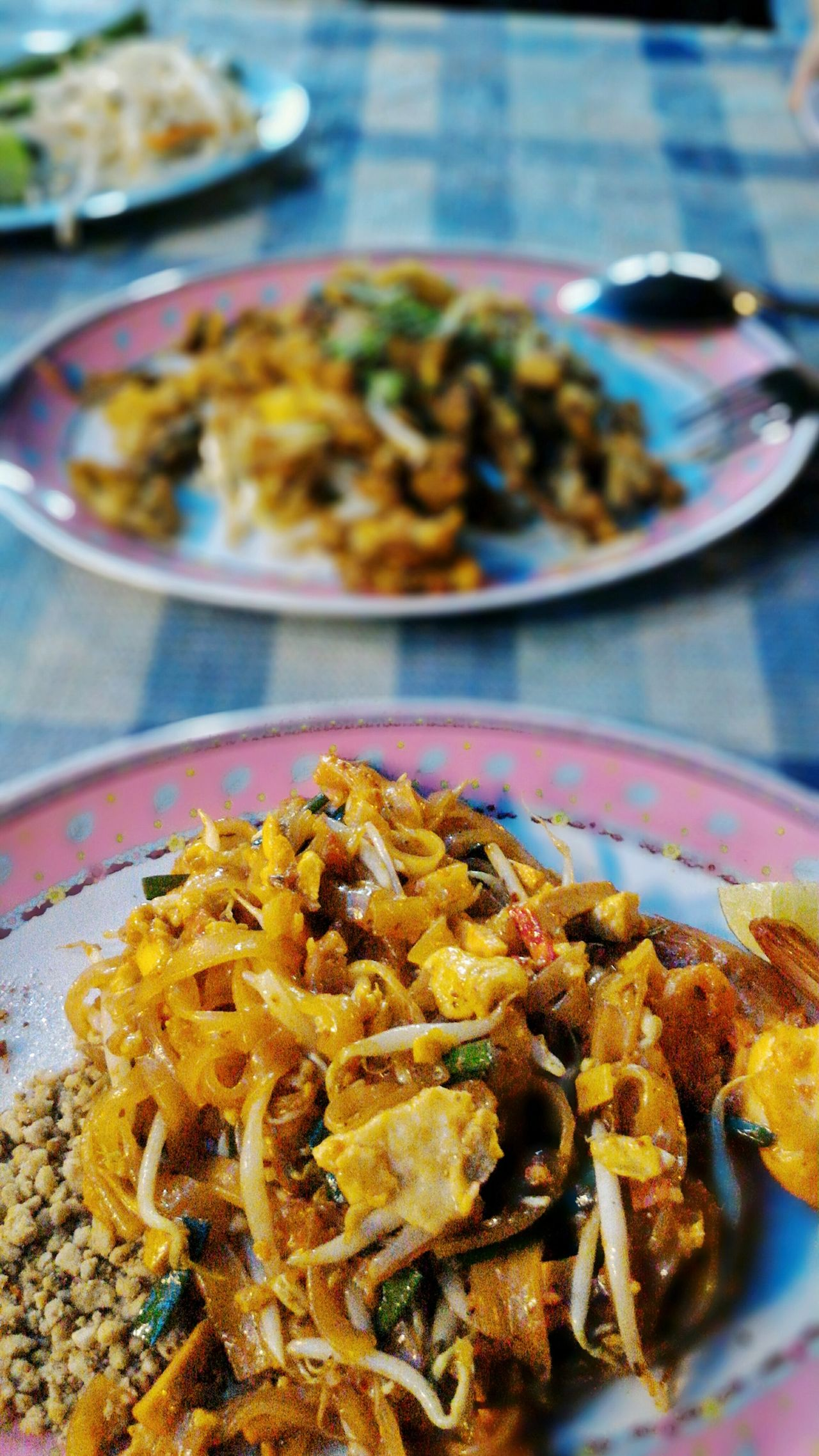 Street Food Worldwide Streetfood Food Porn Foodphotography Foodporn Night Photography Thailand Bangkok Phad Thai Phadthai First Eyeem Photo Dinner Time Close-up Close Up Blurred Background Thai Food