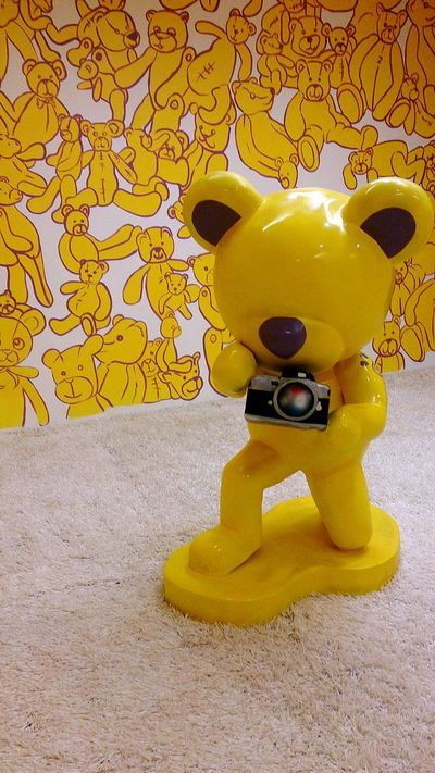 Ilovephotography Eye4photography  Teddy Teddybear Teddybearmuseum Yellow Photographer