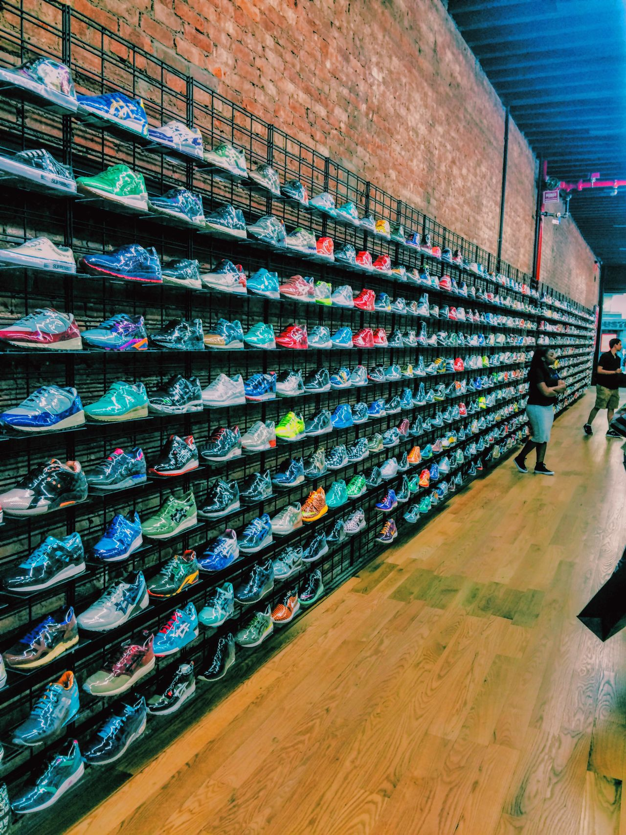 Wallofshoes Flightclub Shoe New York NYC