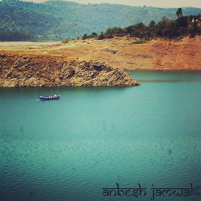 Incredible_himachal Himachalpictures Instahimachal Lake Dam Boat Water Hillview Photography Nikon Follow Art Worldbestgram Artist Nature Wanderlust Bilaspur Una People 📷©