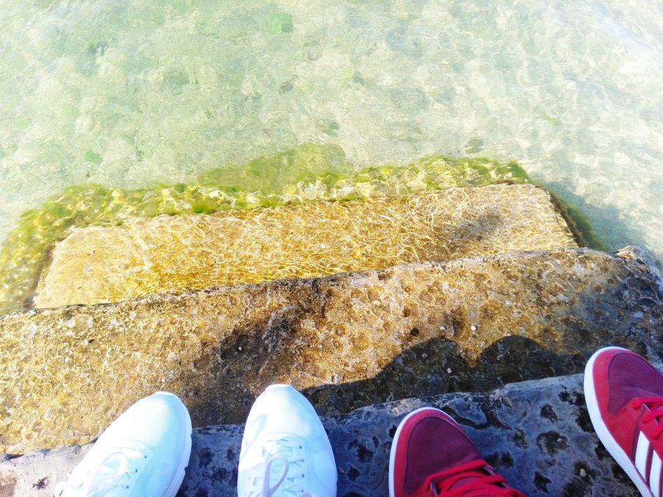 Water Nature Forbidden Love He, She And Sea Adriatic Sea