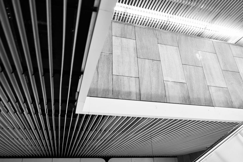 Straight Lines Lines And Shapes Lines Transport Architectural Detail U2 Underground UbahnStation Ubahnhof Ubahn Theresienstraße High Resolution HighResolution Urbandevelopment Urbantransport No People München Munich Transportation Germany Urban Built Structure Architecture Repeating Patterns Repeating Elements
