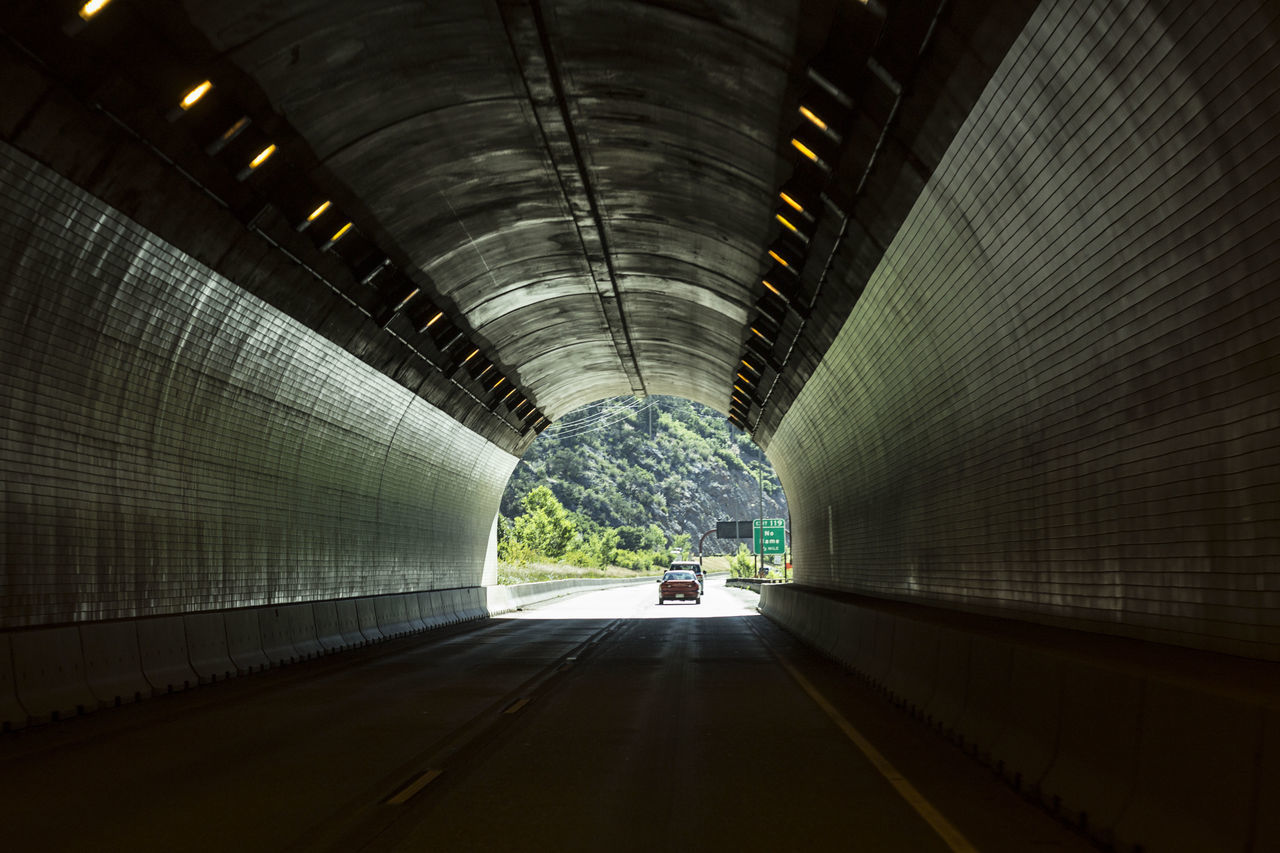 Architecture Built Structure City Color Colorado Illuminated Indoors  Journey Night No People Road The Way Forward Tunnel Vacation