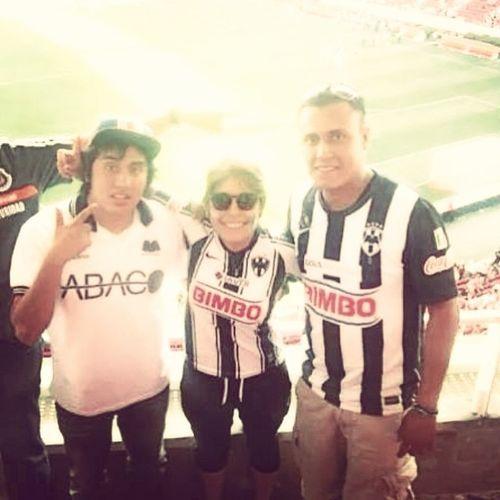 Rayados Estadioomnilife Hinchas Nuncasolo que día !!