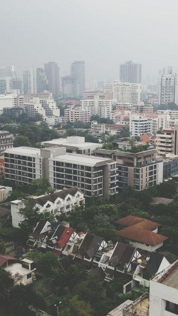 Roof Top Bangkok, Thailand Smog Sukhumvit