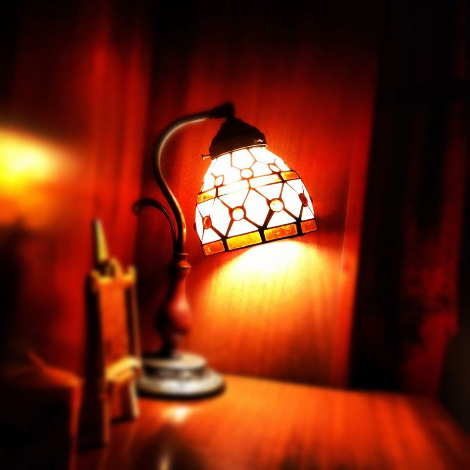 Lamp Chanterelles Atmosphere Night Goodnight
