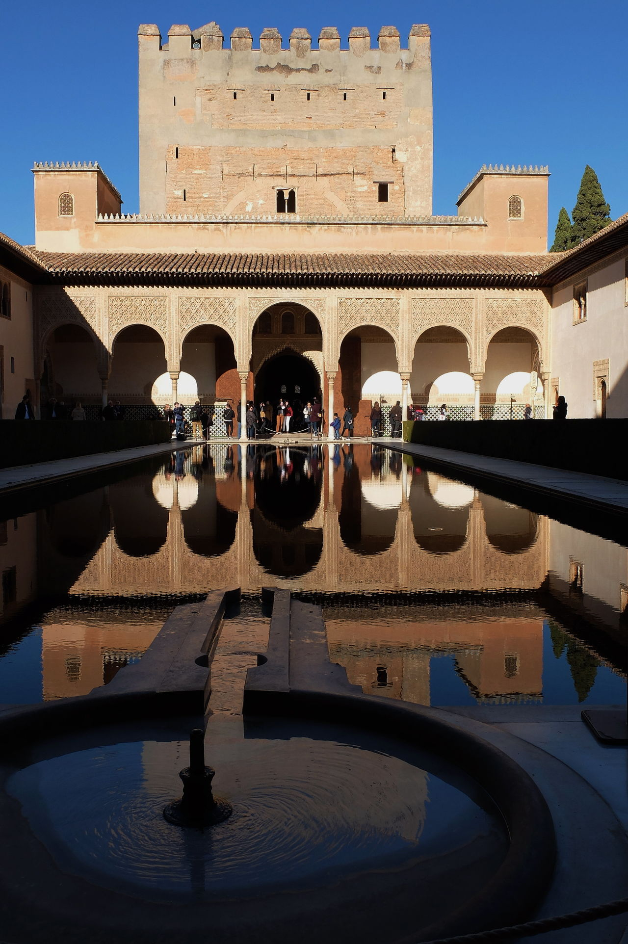 nirror lake Alhambra Alhambra De Granada  Architecture Arts Culture And Entertainment Building Exterior Built Structure City Cultures Day History Mirror Lake Mirrror No People Reflection Sky Travel Travel Destinations Vacations Water