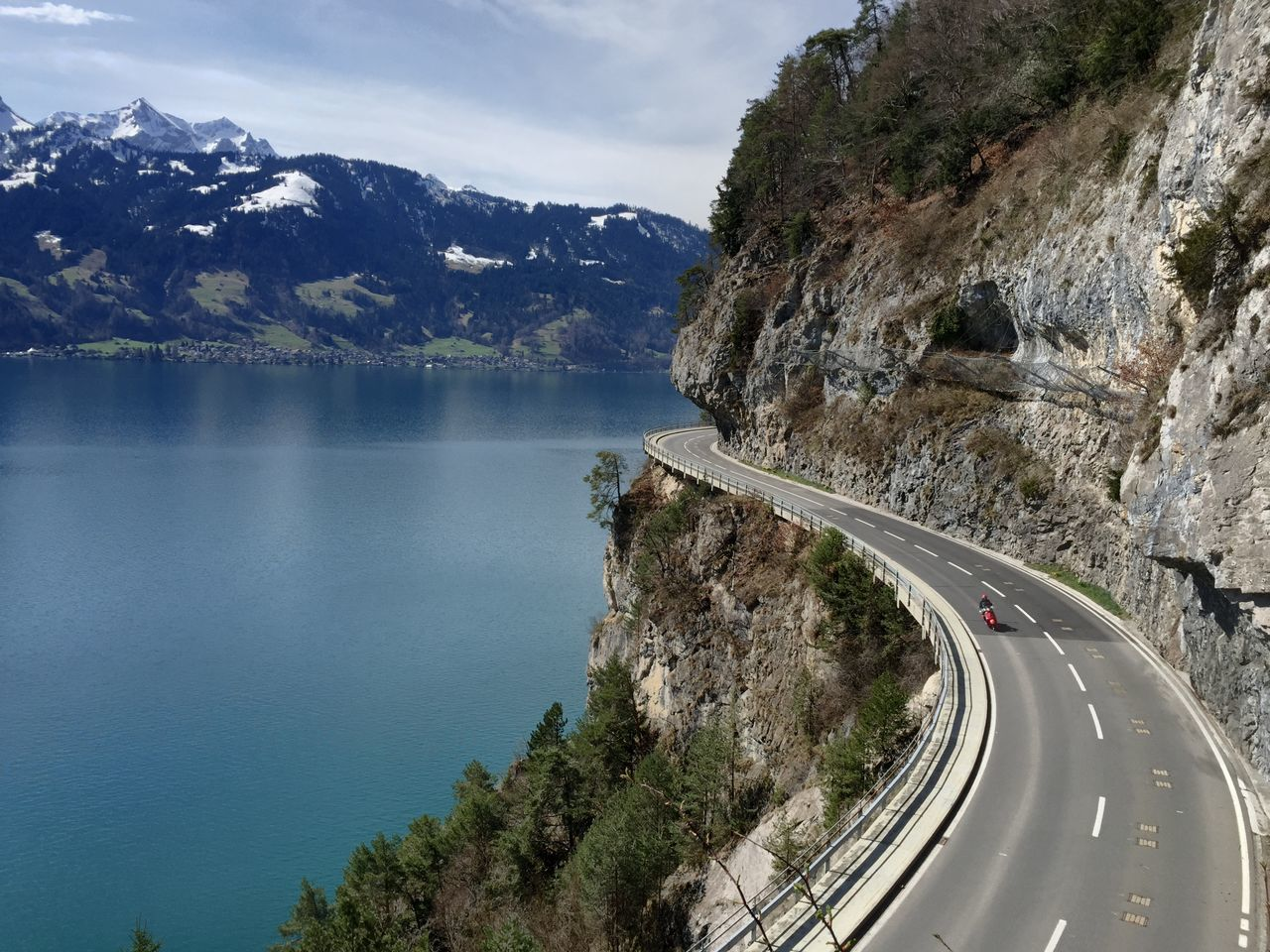 Beauty In Nature Car Curve Day High Angle View Landscape Mode Of Transport Mountain Mountain Range Nature No People Outdoors Road Road Trip Scenics Sky The Way Forward Transportation Tree Winding Road