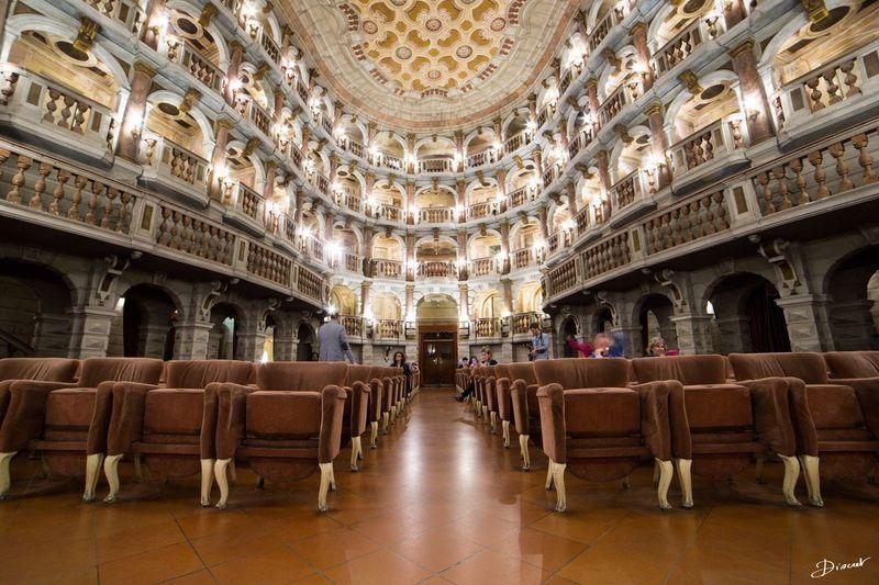 Mantova Teatrobibiena Teatro Bibiena Teatro Mantoue Lombardia