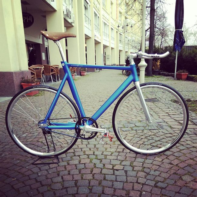 Trackbike Schindelhauer Bike Hektor Fixie/fixed Gear Fixed Gear Fixie Stylish Beltdrive Fahrrad BundesRadBonn