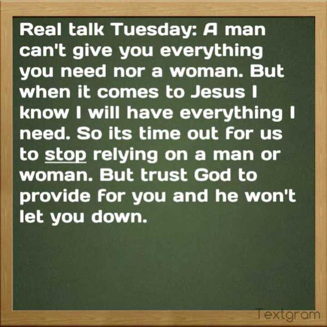 Real Talk Tuesday