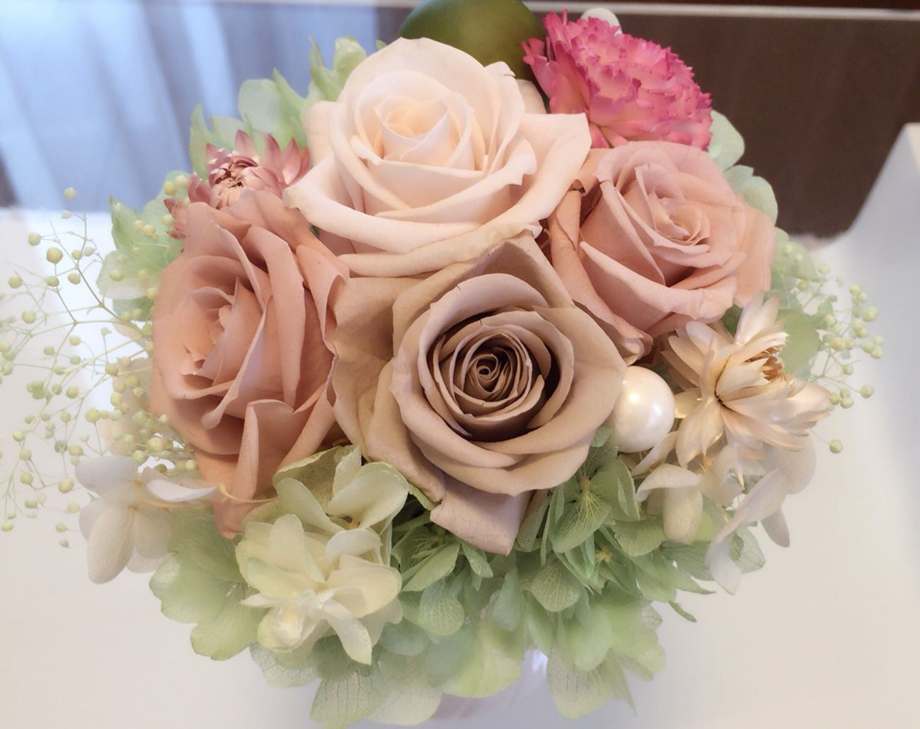 Flower Flower Arrangement ブリザードフラワー ピンク 趣味 手作り 趣味