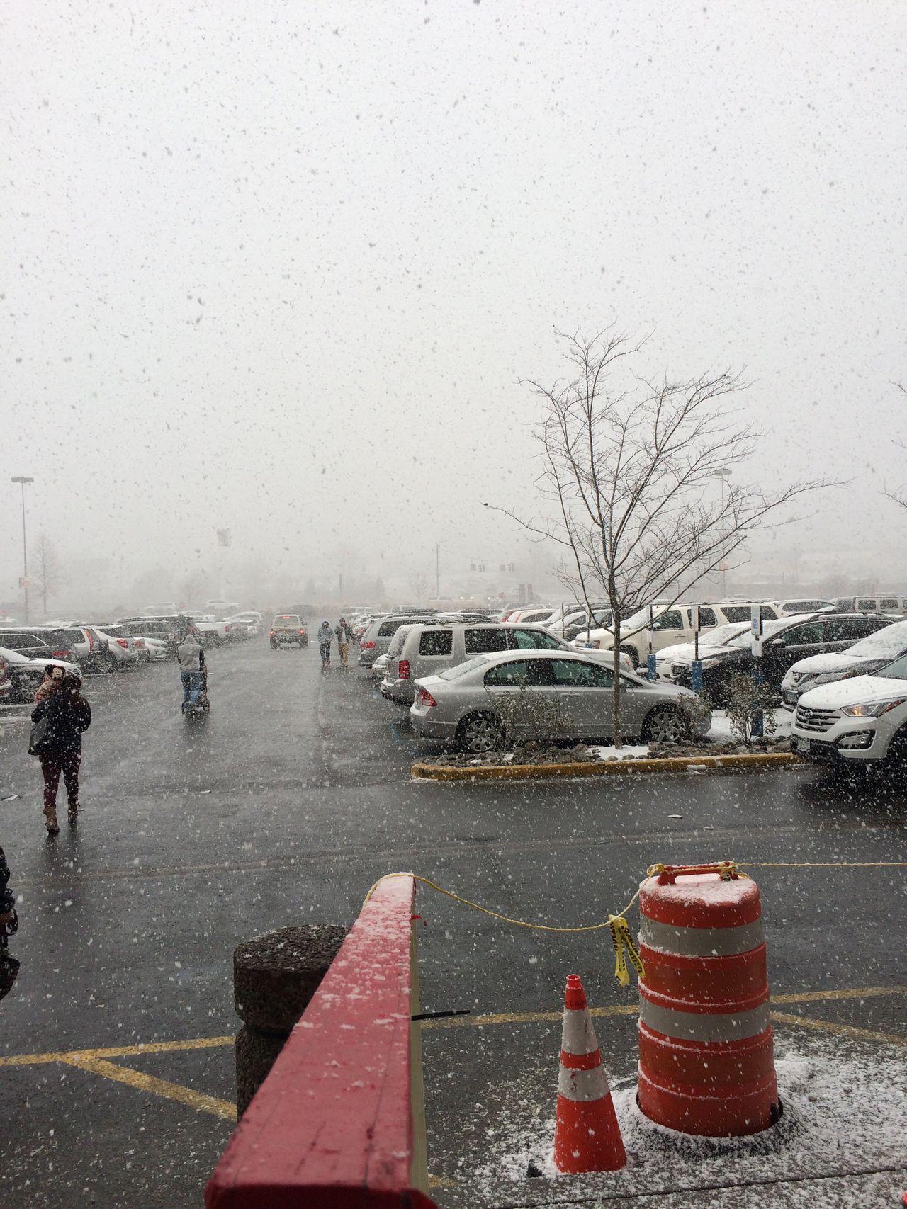 Palisades Centre, New Nyack. Palisades Centre Palisades New Nyack New York New York City Outdoors Fall Tree Snow Season  Sky Clouds Overcast