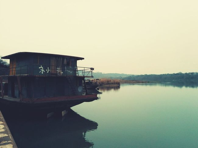 Boat VSCO Mobile Photography Xiangjiang River Town Nubia Photography Nubia Z9 Riverside Hello World Outdoor Photography Nature_collection