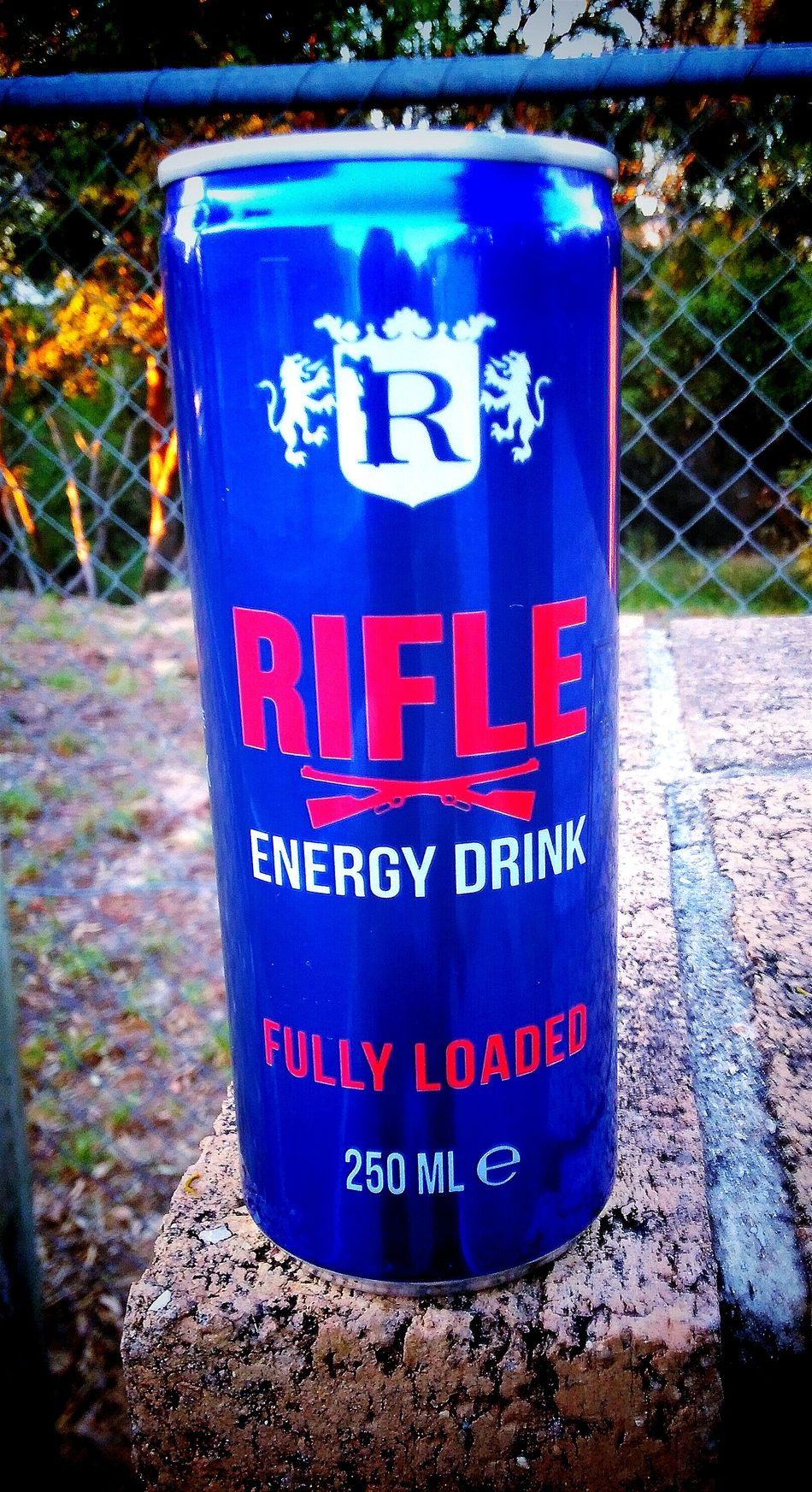 Energydrink Fully Loaded Rifle Cans