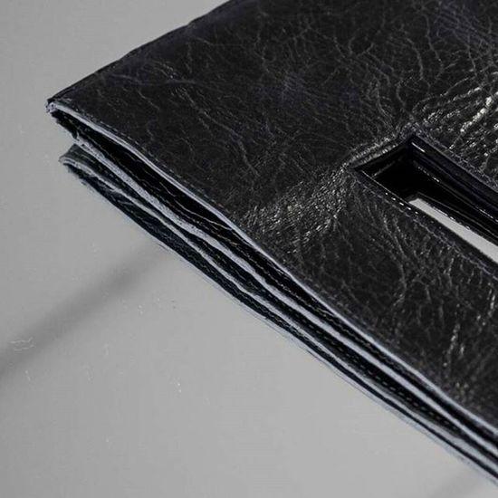 Leatherbag Detail Mixedmedia Fashion Design