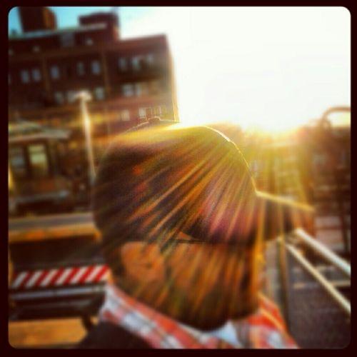 Sun light... Photography Outdoors Outside Sun Sunset Photo Manipulation Just Josh
