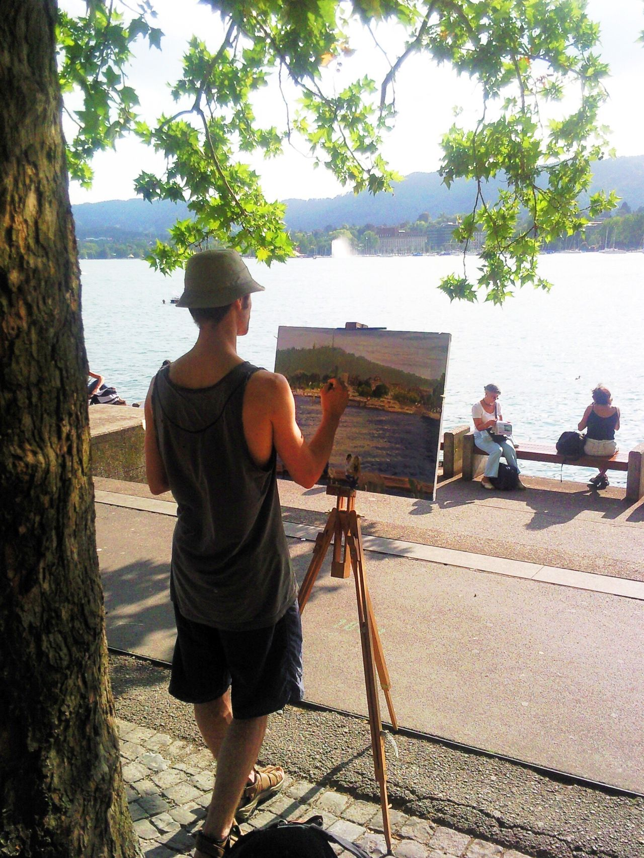 Maler Malerei Künstler Kunst Painter Pintor Arte Artista Pintura Painting Artist Art Zürich Zürichsee Colour Of Life Art Is Everywhere