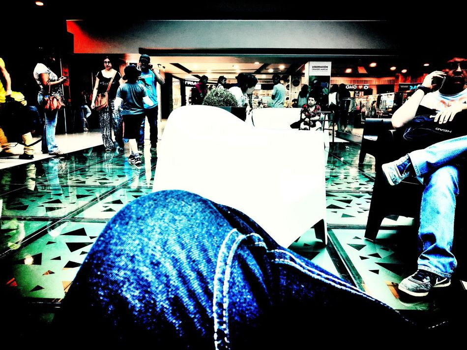 Relax público Relax Public Mall Chile First Eyeem Photo