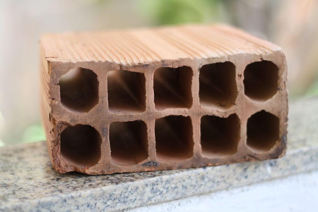 1.8f Argila Brick Bricks Close-up Construction Bricks Focus On Foreground No People Tijolo Tijolos