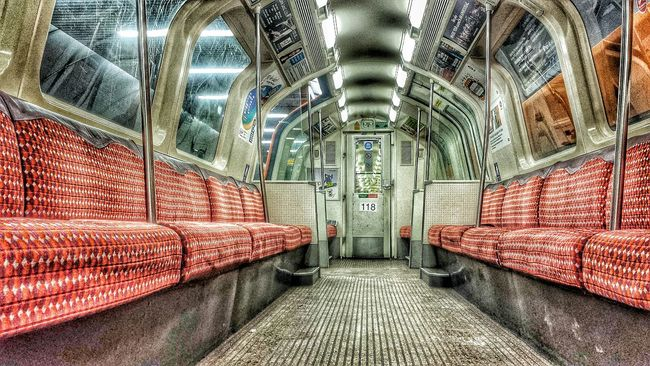 Notes From The Underground Empty Train