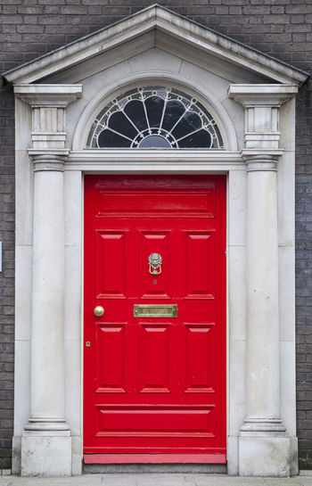 Dublin Individuality Ireland Old Fashioned Resistance  Wood Architecture Building Exterior Civil Day District Door English Gregorian Historical Law Medieval Neighborhood No People Outdoors Red Series