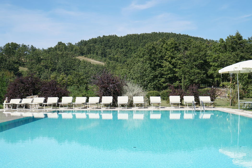 Assisi Assisi, Italy Outdoors Sky Sun Sunset Swimming Pool Water Reflections Wedding